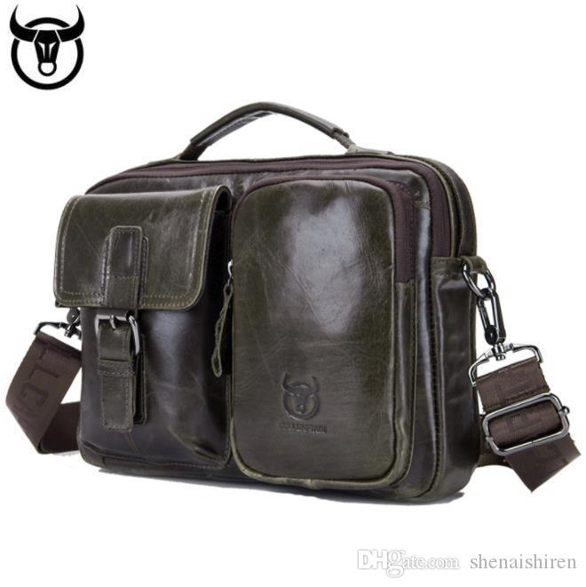 Patlayıcı erkek moda devletleri Avrupa iş rahat katman evrak çantası omuz deri messenger çanta ve inek derisi üst United retro M npda