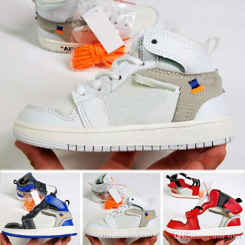 Nike air jordan 1 retro Niños 11 11s Space Jam Bred Concord Gym Zapatos de baloncesto rojos Niños Boy Girls White Pink Midnight Navy Sneakers Niños pequeños Regalo de cumpleaños