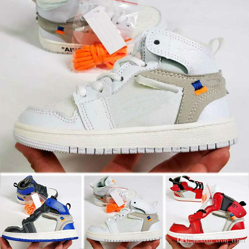 Nike air jordan 1 retro Kids 11 11s Space Jam Bred Concord Gym Rosso Scarpe da pallacanestro Bambini Boy Girls Bianco Rosa Navy Sneakers da bambino Toddlers Regalo di compleanno