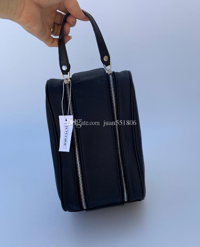 2020 uomini di fascia alta qualità che viaggiano borsa donne di modo WC Wash Bag grande capacità borsa da toilette sacchetti cosmetici make-up Pouch 26CM