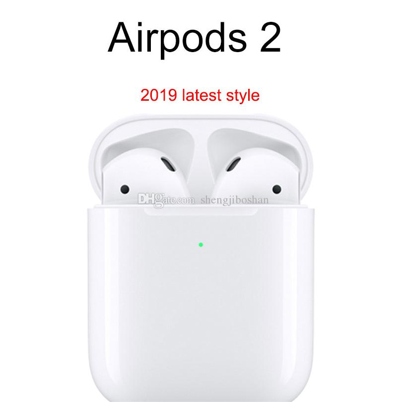 2020 2019 New Airpods 2nd Generation With Wireless Charging W1