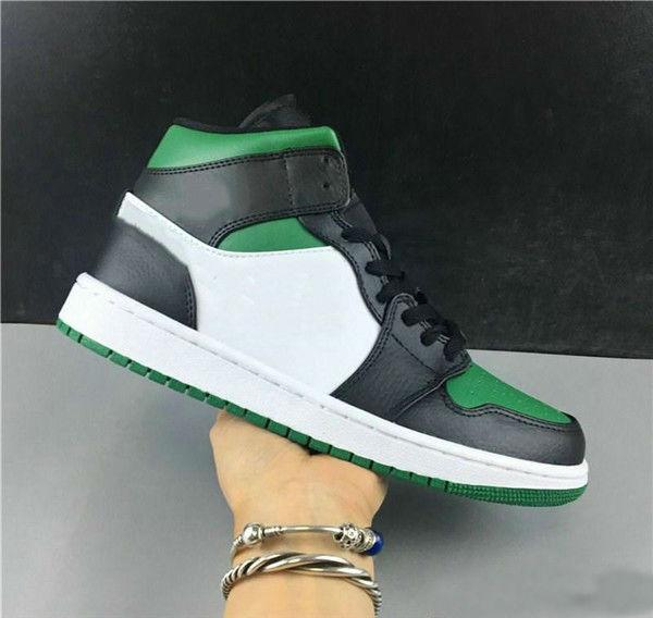 With Box New 1 I High OG GREEN pine white PURPLE court MEN Basketball Shoes designer 1s sneakers sports outdoor trainers
