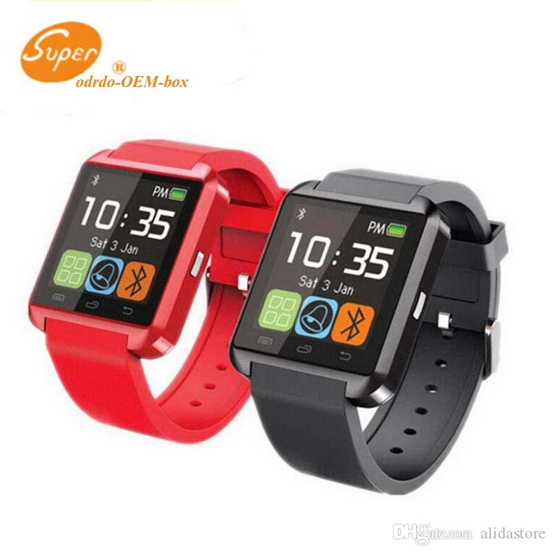 U8 Smart Watch Phone Mate Bluetooth Smartwatch Wristwatch U Watch Touch Screen for Samsung S4 Note 2 3 HTC Android iPhone 5 5S 4S