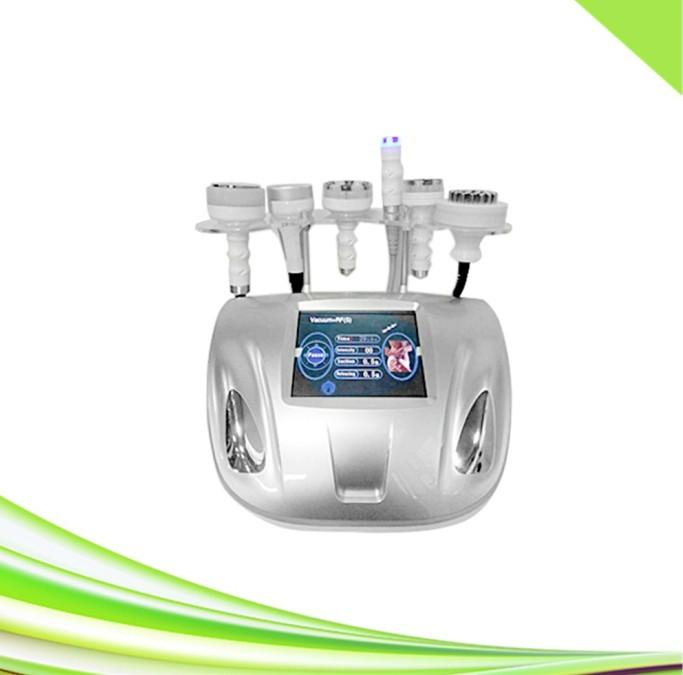 6 in 1 Salon Spa 80K Kavitation rf Hautstraffung Körper schlank Ultraschall Kavitation Vakuum rf