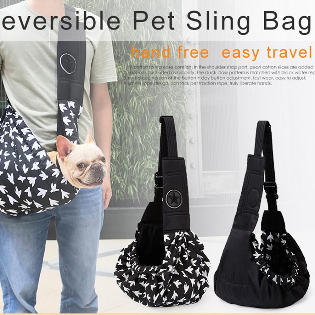 Portable Backpack Single Shoulder Carrier Bag for Pet Cat Dog Teddy Outdoor Hiking Travel Pet Accessories