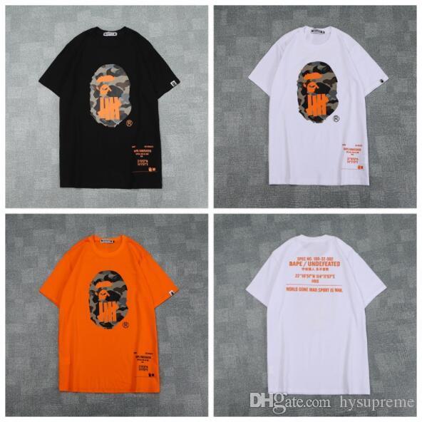 2019 Sommer Männer Frauen Camo Gedruckt Rundhals T-shirt Männer Beiläufige Lose Kurzarm T-shirts Größen M-2XL