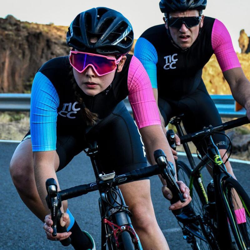 TICCC الصيف ركوب الدراجات جيرسي الرجال دراجات الجبلية بلايز كم قصير سباق الدراجات الملابس MTB دراجة جيرسي القميص