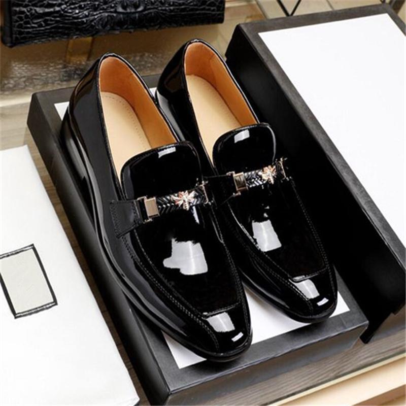 New Design Men Shoes 2019 Black Patent