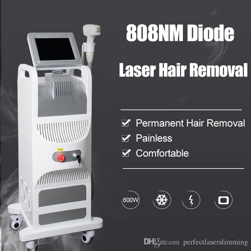 Новое поступление 808 диодный лазер красоты оборудование Профессиональное лазерное удаление волос машина красоты сопрано 808nm лазерный диод машина