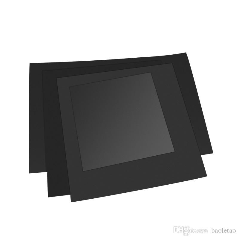 1 pc Nouveau Papier D'impression Magnétique Chaleur Papier Pour Imprimante 3D 220/214 / 300mm Carré Plaque De Construction Imprimer Autocollant Bande Surface Flex Plate