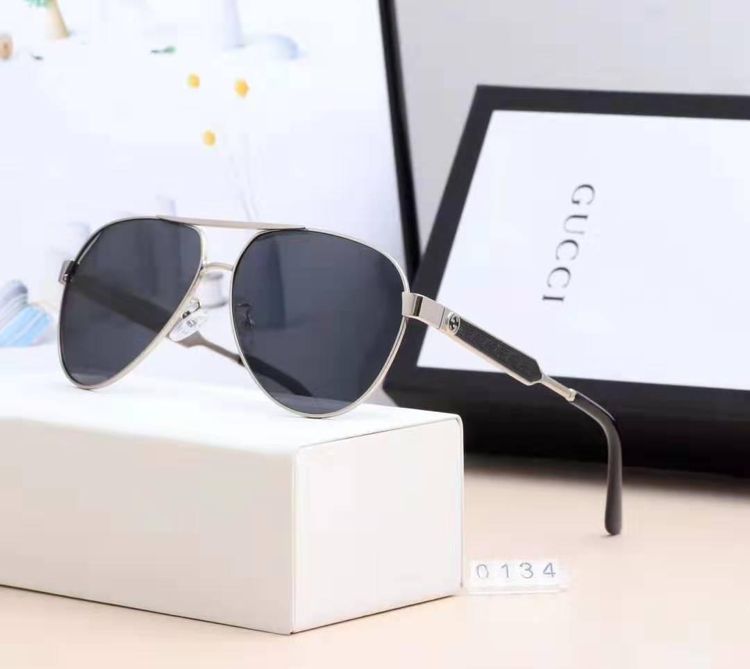 Brand Design Lunettes de soleil femmes hommes Marque design Mirror Bonne qualité métal mode des lunettes de soleil surdimensionnées vintage UV400 masculin féminin