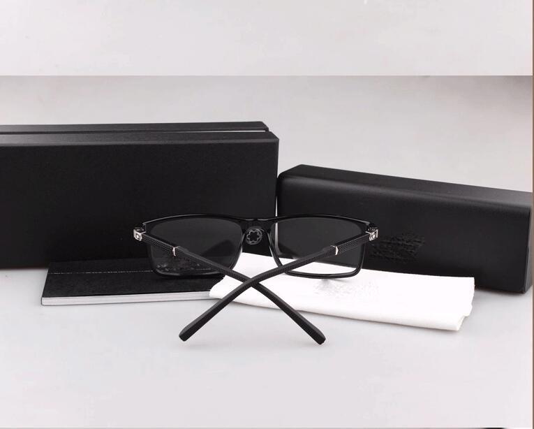 Design di lusso di All'ingrosso-Modo decorazione in metallo di Eyewear di marca GlassMyopia occhiali Lenti incolori MB0541