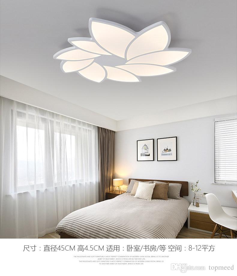 Großhandel Moderne Led Deckenleuchten Esszimmer Lampen Wohnzimmer  Beleuchtung Kinder Schlafzimmer Leuchten Hause Leuchten Kronleuchter  Beleuchtung Von ...