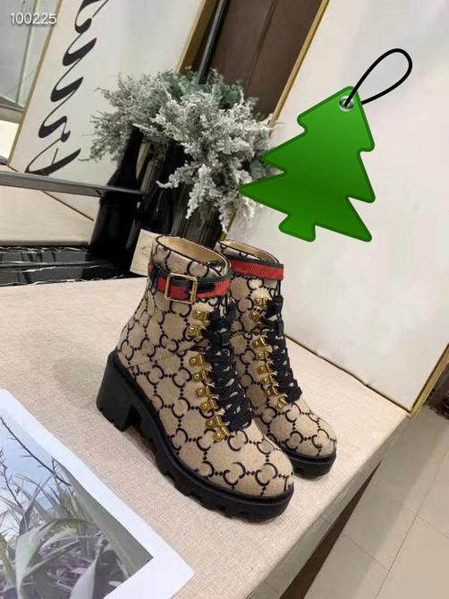 Шерсть ботильоны бежевый / черное дерево Женские сапоги на каблуке пинетки шнуровке люверсы обувь Chaussures De Femmes Lady Luxury Bottes 4S1
