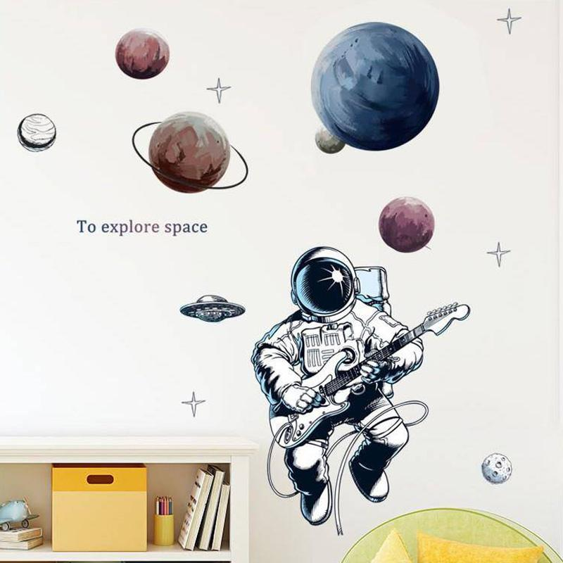 Zoomie Kids Solar System Peel And Stick Planets Outer Space Universe Wall Decal Reviews Wayfair
