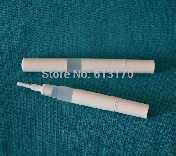 Livraison gratuite bouteille eyeliner 3ml avec une brosse bouteille d'ombre à paupières liquide vide mascara tube lipgloss bouteilles de Revitalash blanc