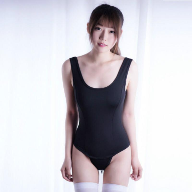 Cosplay Mayo Bikini Kadınlar Swim Suit Üst Swim Wear Sukumizu Japon Mayo Seksi Spor Vücut Suit İç Sıkı