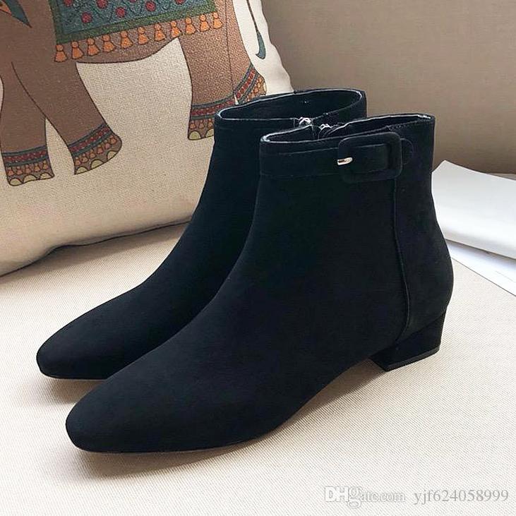 Italian Luxury Sr@Geio Rssoi Women S Boots Ladies Boots Casual Boots Nubuck  Leather Zipper Design Women S Shoes Thick Box And Originallogo13 Footwear