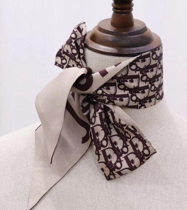 Nuovo 2020 delle donne calde fascia sciarpa Trasporto di goccia del sacchetto sciarpa di modo classico testa alta qualitá fascia per capelli Sciarpe di seta reale di modo 100%