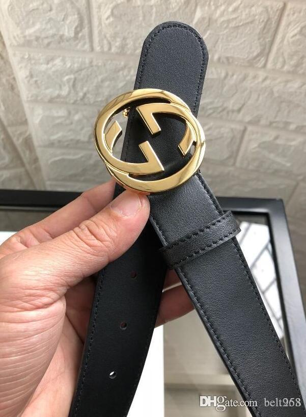1888Big gran hebilla de cinturón de cuero genuino sin cinturones de diseño caja de mujeres de los hombres de alta calidad de la correa nuevos mens cinturones de lujo libre del envío