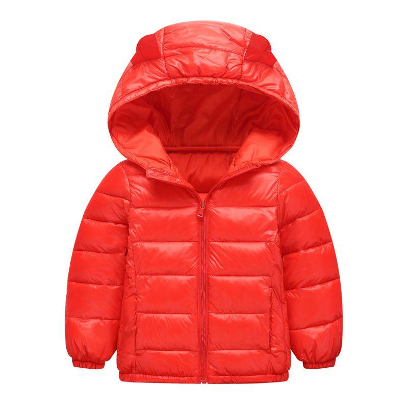 [Mettono nel formato] di Cotton bambini di usura 2019 autunno e abbigliamento invernale di nuovo stile del fumetto uomini e le donne del bambino del bambino verso il basso Cotto Jacket
