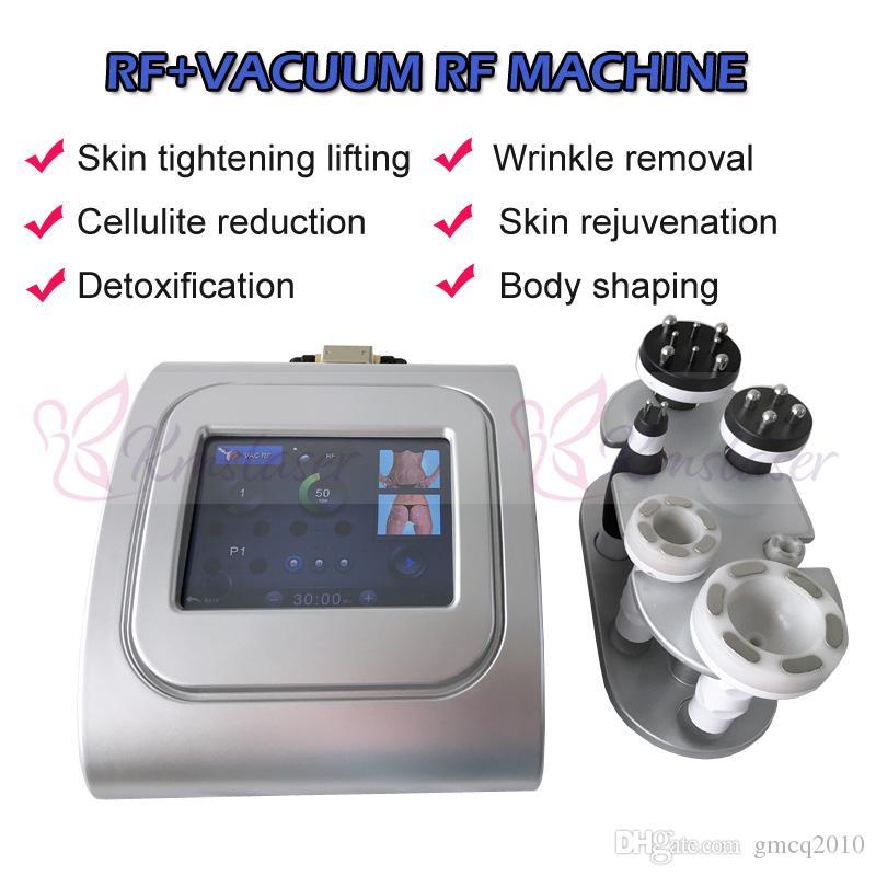Portable 80Kpa Vacuum RF 6 poignées visage ascenseur corps minceur perte de poids anti-vieillissement rajeunissement de la peau maison spa utiliser machine