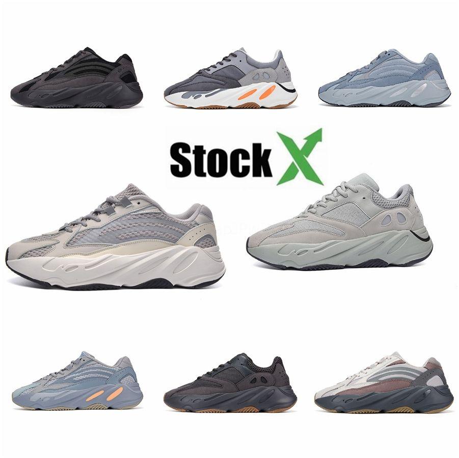 2020 Neue 700 V3 Azael Alvah Kanye West Schuhe Herren Laufschuhe für Männer 700S Schuhe Sport Tripler Fashion Sneakers Turnschuhe Größe 11 # QA225
