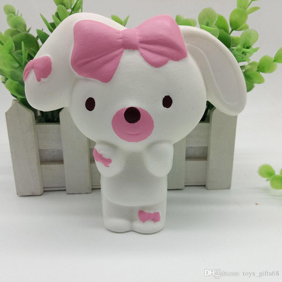 PU lento giocattolo rimbalzo Squishy infermiere carino simulazione giocattoli coniglio autismo bambini regalo di compleanno di decompressione giocattolo della casa del gioco