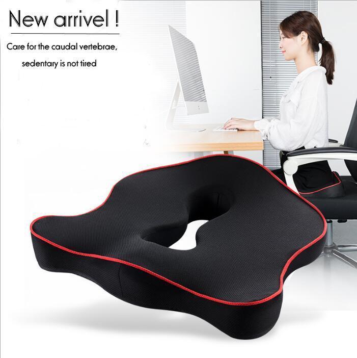 Premium Memory Foam Seat Cushion Coccyx Orthopedic Car Office