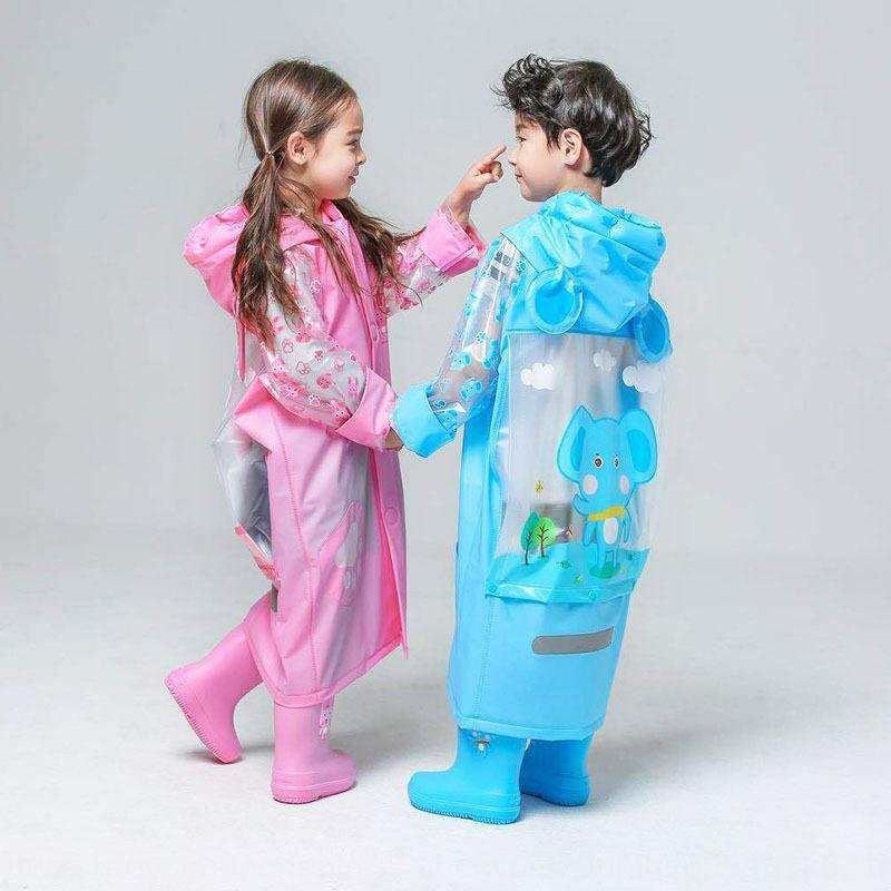 Azul Ant Body Bag veste macacão com mochila manga aluno bonito dos desenhos animados único poncho camuflagem Cloak roupas do corpo das crianças