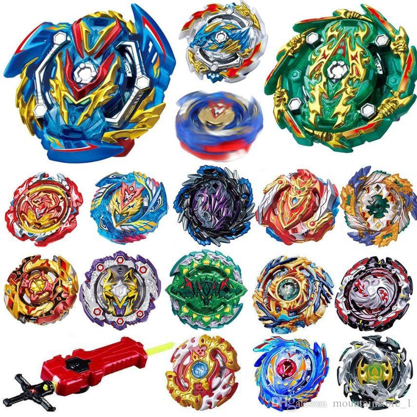 Newly All Models Launchers Beyblade Burst GT Toys Arena Metal God Fafnir Spinning Top Bey Blade Blades Toy (Retail)