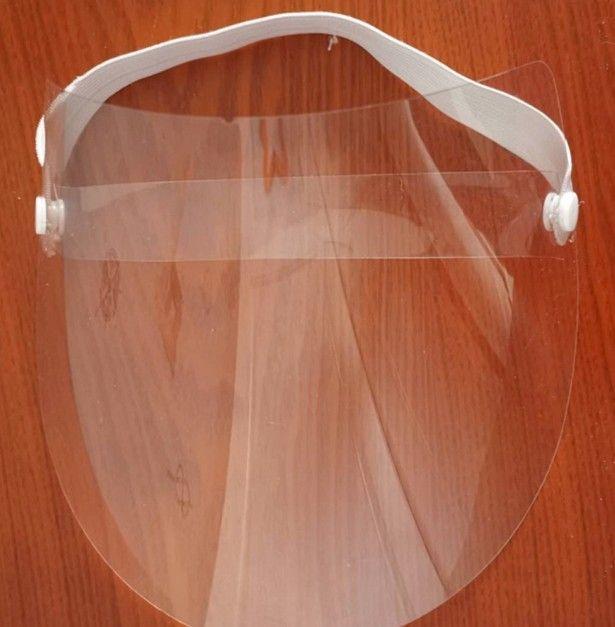 Ajustável Anti Gota Dust-proof Capa protetora Máscara Facial Visor Escudo gota Anti-fog Windproof face Escudo lavável