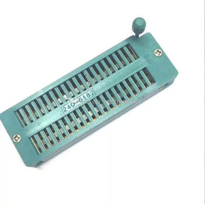 DIP40P ZIF Soket 2.54mm Pitch Sıfır ekleme Kuvveti