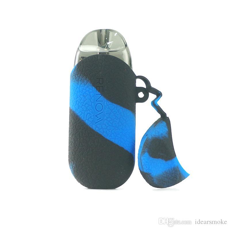 Vaporesso Renova ZERO Kit Funda de silicona duradera Accesorios para fumar Vaporesso Box Mod Funda Cubierta 12 colores en stock