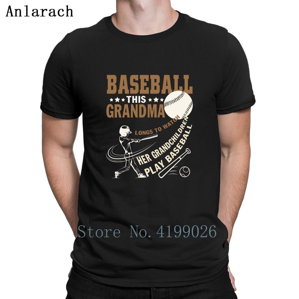Ses Petits-enfants Jouer Baseballs T-shirts Top T Taille S-3XL Créature Gents T-shirt Nouveau mode famille Lumière du soleil élégant