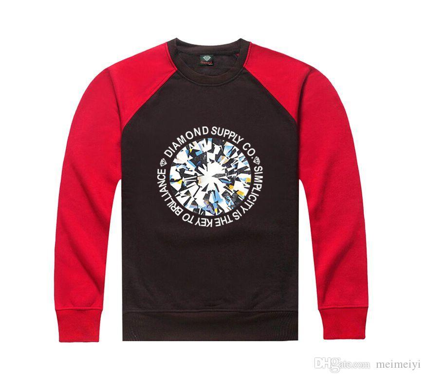 S-5xl b78 frete grátis diamante em torno do pescoço camisola Dos Homens de Algodão de Manga Comprida Com Capuz Sólida Camisola Masculino Freeshipping