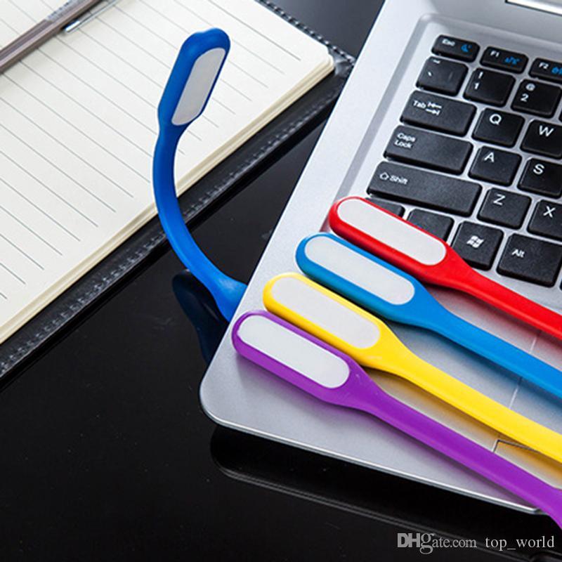 유연한 USB 키보드 조명 램프 휴대용 슈퍼 밝은 LED 전원 은행 컴퓨터 PC 노트북 노트북 데스크탑