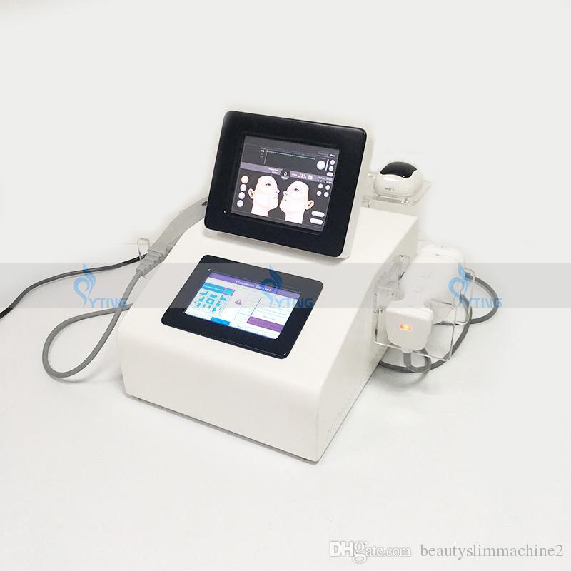 Boyun cilt kaldırma için HIFU yüz kaldırma makinesi sıkma yüksek yoğunluklu odaklı ultrason yüz hifu liposonix vücut zayıflama makinesi