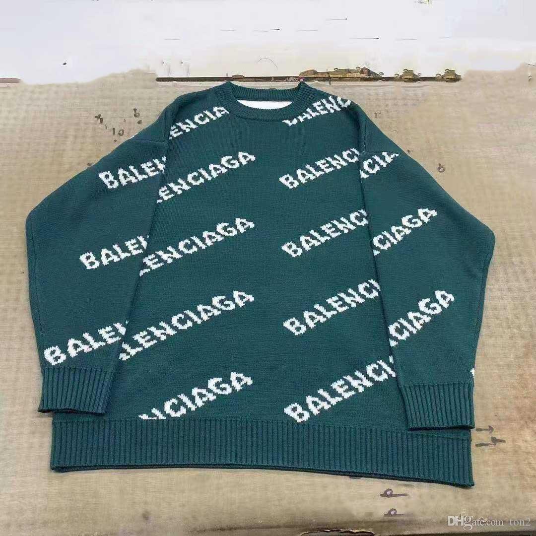 s-2xl 2020 мужской свитер письмо женщины толстовка толстовка Мужчины Женщины свитер толстовка с длинным рукавом пуловер Толстовки уличная одежда