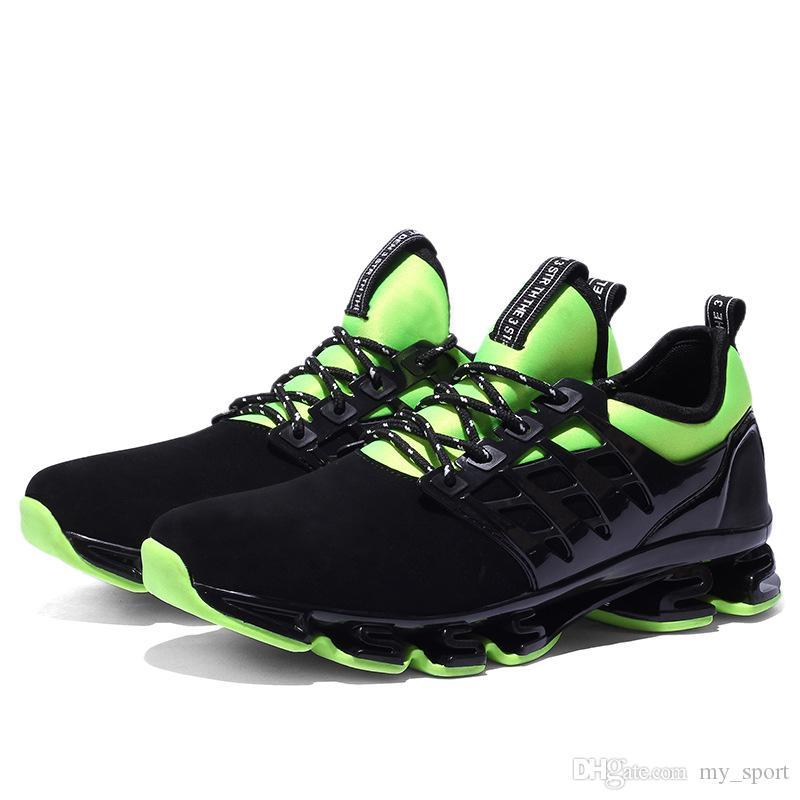 super café fresco de los zapatos ocasionales respirables los hombres zapatillas de deporte al aire libre de los zapatos de rebote verano Footware zapatos profesionales más el tamaño 46