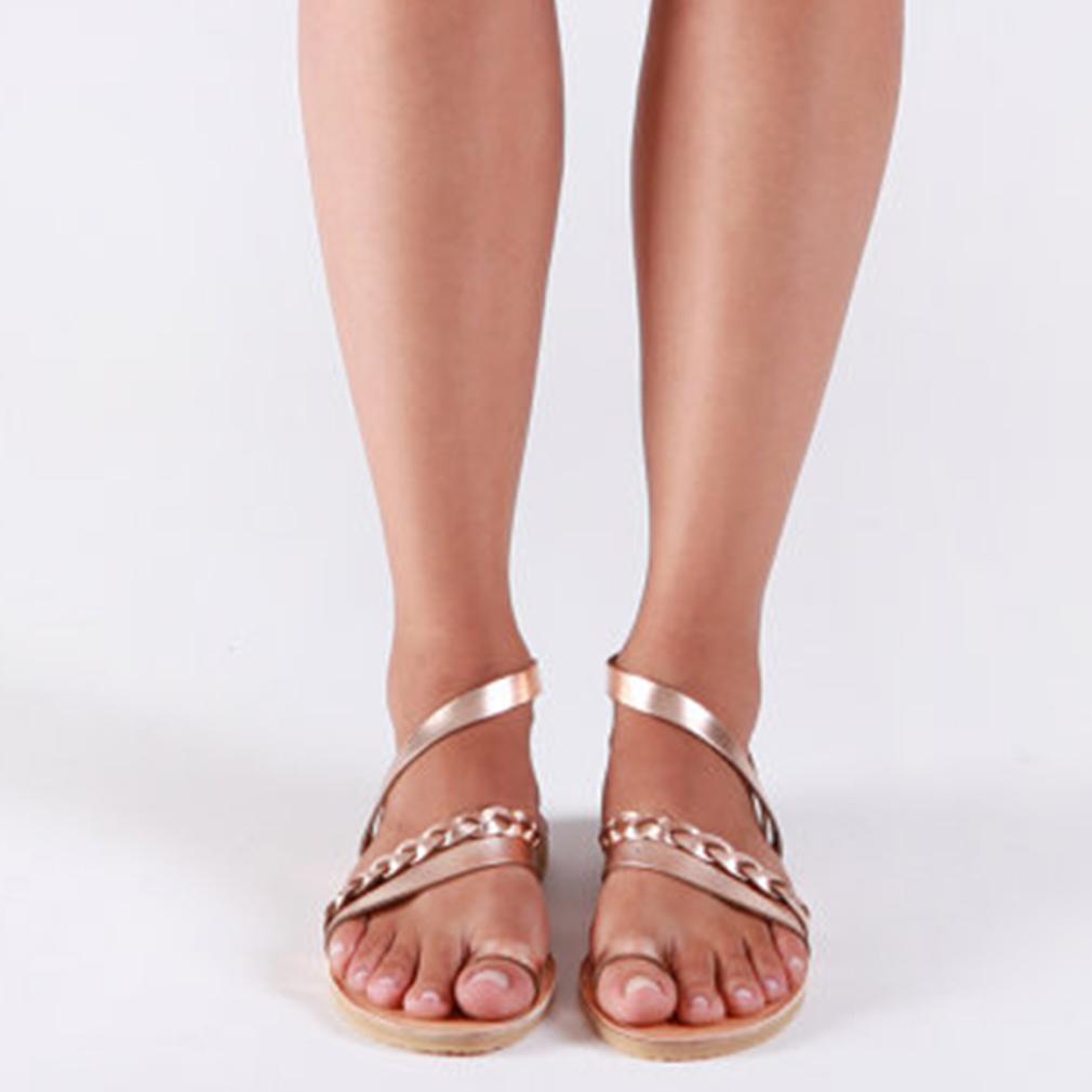 Thong Sandalet Yaz Kadın Ayaklı mujer 2019 Roma Kadın Sandal Düşük Topuklar Terlik sandalias Casual Plaj Düz Ayakkabı Dokuma Flops