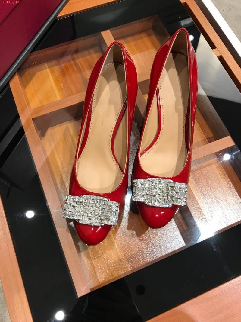 ملابس والاحذية جولة رئيس الماس أعقاب القوس لمأدبة النساء ثوب الزفاف حزب مثير الأزياء الأنيقة اللون الكلاسيكي الأحذية منخفضة الكعب عارية