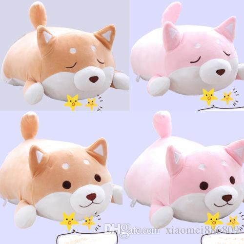Anime Shiba Inu Chien Doux En Peluche Oreiller Coussin Animal Animal Poupée En Peluche Jouet Cadeau