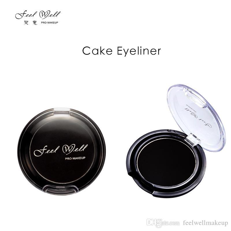 Feel Well Eye Makeup Eyeliner Powder Polvo multifunción soluble en agua 3 Color Eyebrow Powder Kit de maquillaje para cejas Eye Liner
