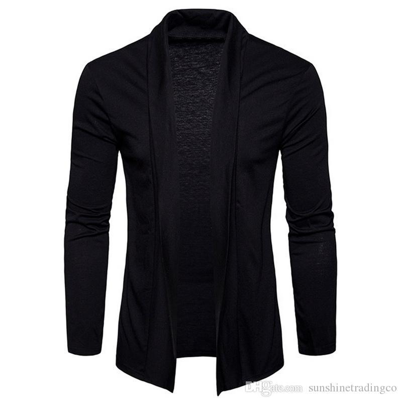 Men/'s Long Sleeve Sweater Jumper Knit Pullover Jacket Cardigan Jackets Coat Tops