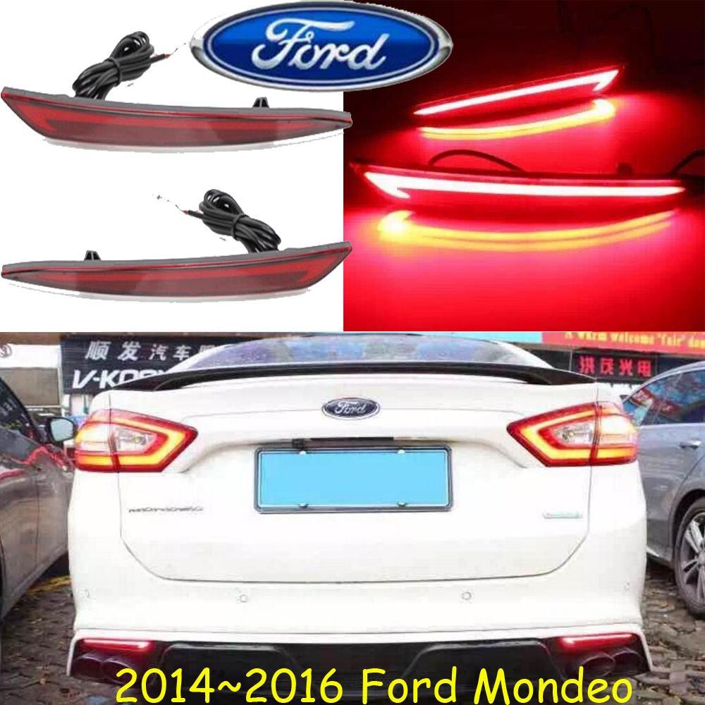 2013 ~ 2018y la luz trasera bupmer coche para los accesorios del coche LED Ford Mondeo Fusión de freno luz trasera luz trasera luz trasera fusión forMondeo