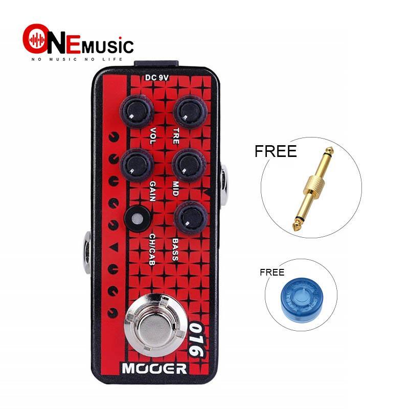MOOER Guitar Digital Preamp 016 PHOENIX homage to Modern German-designed Metal Amps for Modern High Gain Lovers