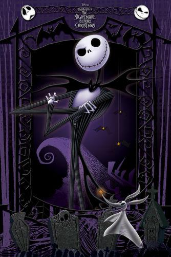 Tim Burton Nightmare Before Christmas Artwork.2019 Tim Burton S The Nightmare Before Christmas Movie Wall Decor Art Silk Print Poster 9 From Lyshop007 Price Dhgate Com