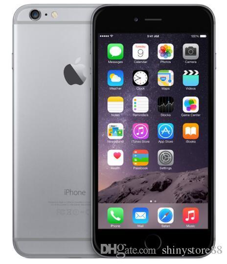 Apple iPhone 6 No Touch ID 16GB / 64GB / 128GB 4.7 بوصة A8 iOS 11 4G LTE مستعملة الهاتف غير المؤمن