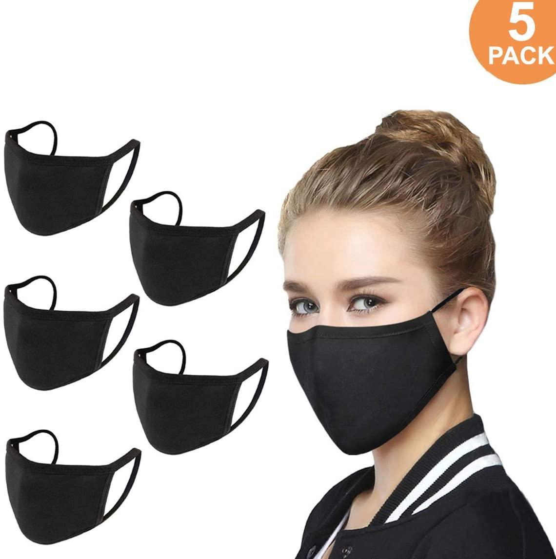 ¡En stock! Mascarilla de algodón unisex Máscara reutilizable lavable divertido cómodo Maske alta calidad